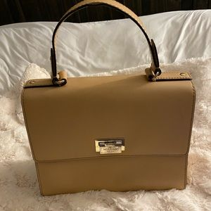 Kate Spade nude bag with strap